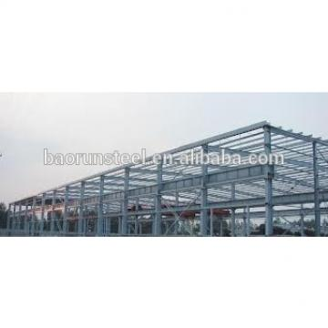 Heavy steel structure luxury prefab house building prefabricated modular homes