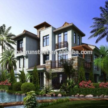 baorun ready made beautiful villa construction