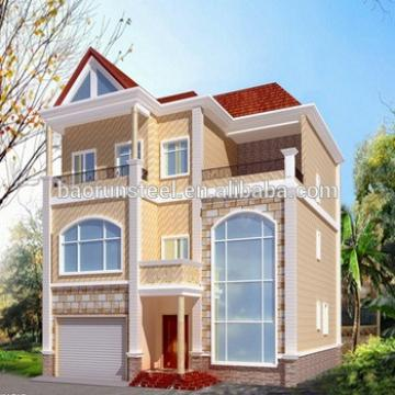 good design quick build steel villa