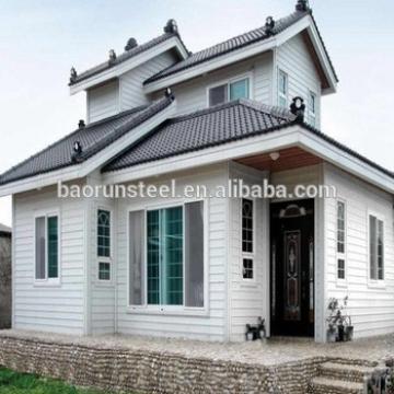 baorun provide two bedroom prefabricated best design portable cabin