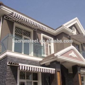China baorun provide beautiful steel structure villa plans
