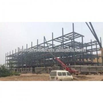 Steel frame industrial construction building