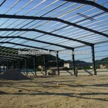 Custom Large Agriculture Grain Prefabricated Steel Biulding Warehouse