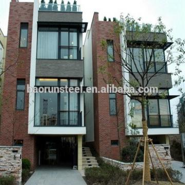 steel houses prefab home light steel villa plans/townhouse/prefab house for restaurant in china