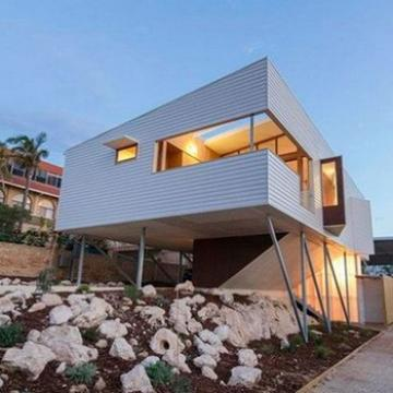 BAORUN modern self living Modern Prefabricated House Luxury Villa Design