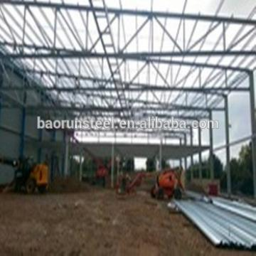 Low cost light steel structure modular warehouse building built for Africa market
