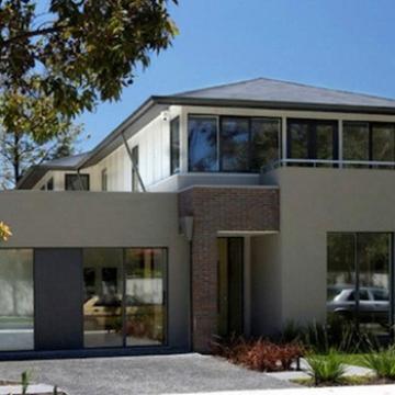 BAORUN eco-friendly Simple Krala Easy Build steel Prefab House Plans with Two Bedroom