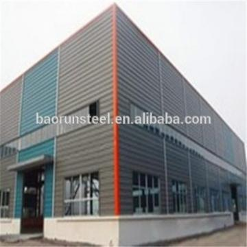Low Cost and Fast Assembling Prefabricated Steel Structure Workshop/Warehouse/garage