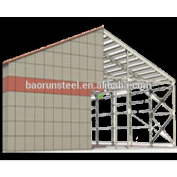 Good quality prefabricated steel frame steel warehouse