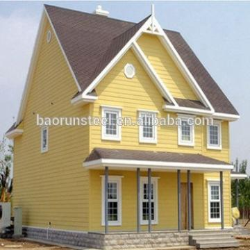 Qingdao baorun modular house construction,prefab green house , granny flat house with colorbond