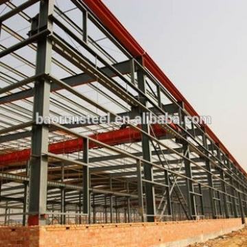 Own Branding Manufactured Steel Frame Prefabricated Warehouse