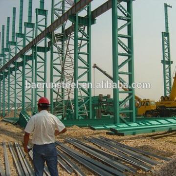 EPS sandwich prefabricated steel frame warehouse/workshop in brazil