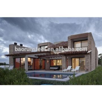 Luxury Modern Prefabricated House,Steel Prefab House Modular