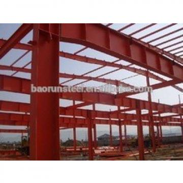 Durable in high quality with CE approved security steel structure warehouse