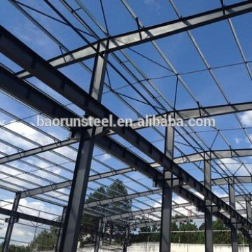 Fire Prevention Short Duration Steel Structure Prefabricated Warehouse