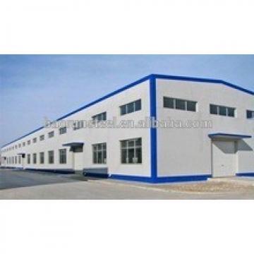 Large span 20-50 meters and height 5-15meters big steel structure workshop