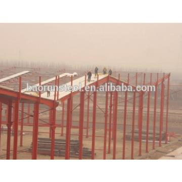 Weight metal framework prefabricated structure steel shed warehouse