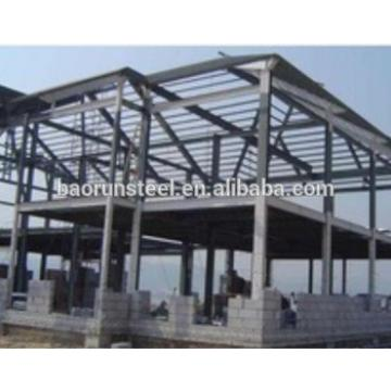 Rust proof fire proof and rust proof prefabricated house structure steel
