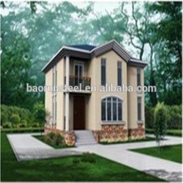 Prefab house.luxury prefab villa , eco friendly big luxury prefab house building prefabricated villa