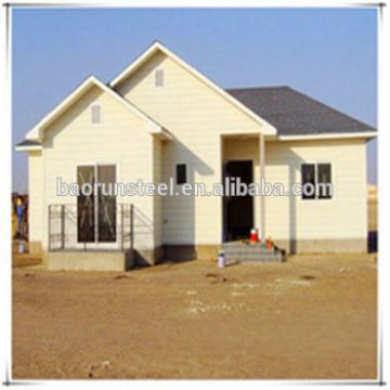 Plastic luxury prefab house building prefabricated villa made in China