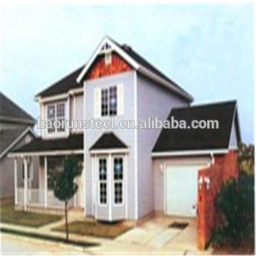 Luxury Container House/Villa, Modular Light Steel House Villa, Prefab House Villa