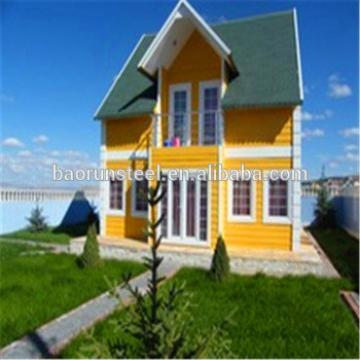 luxury light steel structure villa,prebabricated luxury villa,2 floors design prefab luxury villas
