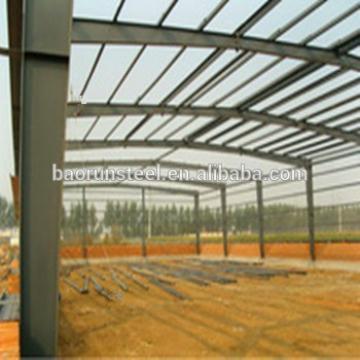 light steel structure prefab steel truss warehouse