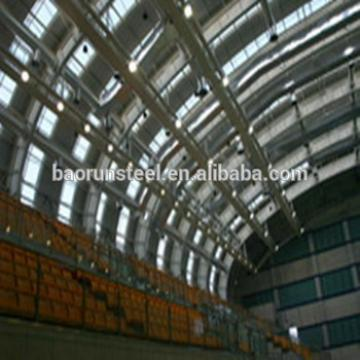 Prefabricated galvanized steel structure warehouse for hangar