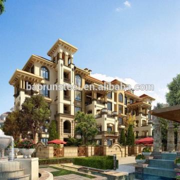 the newest design european style luxury prefab villa