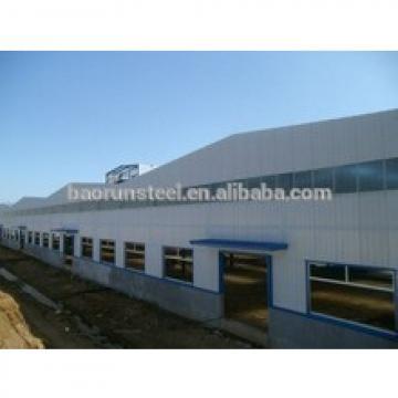 Prefab steel structure airplane hangar