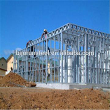 Quality OEM luxury steel prefabricated villas/prefabricated villa for family/ Prefab House