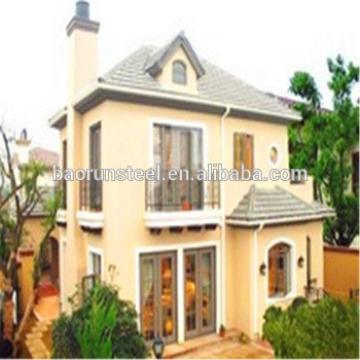 Moblie steel beautiful prefabricated luxury villa,Luxury Prefab Light Steel Villa, Prefabricated luxury villa