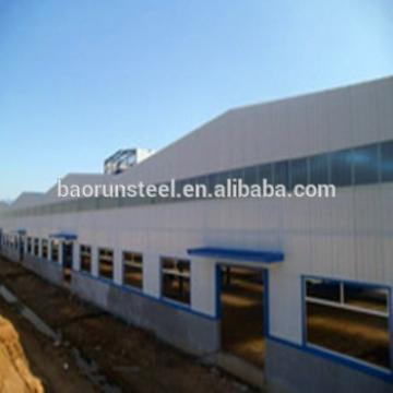 Prefabricated light steel structure for shopping mall