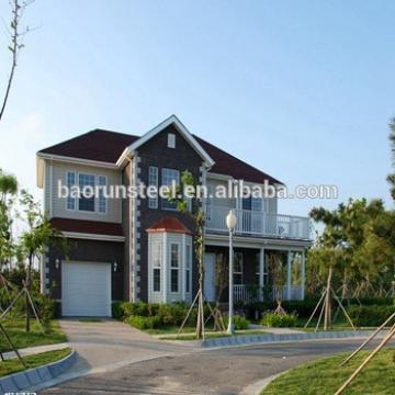 the newest design yellow painting modern prefab villa