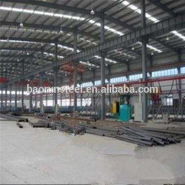 Heavy Industrial Structural Steel Frame System for large Buildings/Workshops