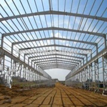 Firm standing Steel Structure workshop warehouse