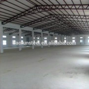 Light steel structure warehouse building steel frame factory