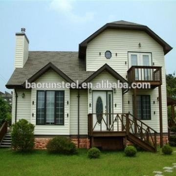 Single-Storey Customized Design Luxury Steel Gauge Prefabricated Villa
