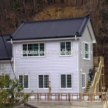 Low Cost China Prefabricated Homes Modern Design Earthquake-Proof Light Steel Gauge Small Prefab House Plans in Nepal Best Price
