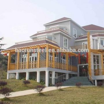 china baorun supplier prefabricated modular houses luxury villa house