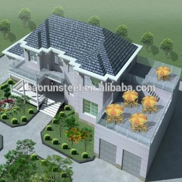 Modern light steel villa with cheap price