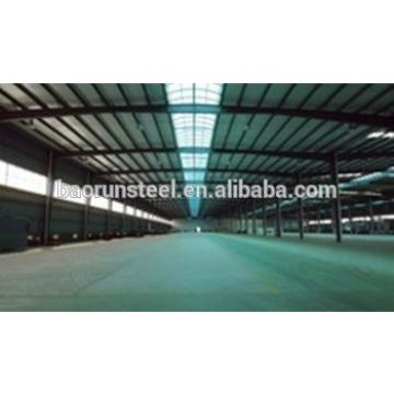 Construction factory Steel metal workshop with CIQ certificate