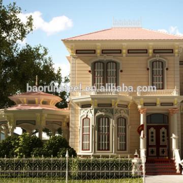 Modern Designed Luxury Light Steel Villa Prefabricated in baorun