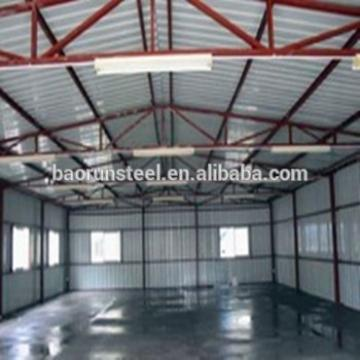 Sandwich panel building for food factory