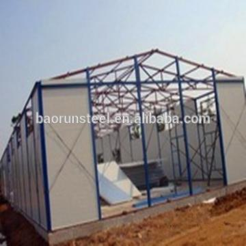 Main produce Light frame professional design prefabricated steel structure
