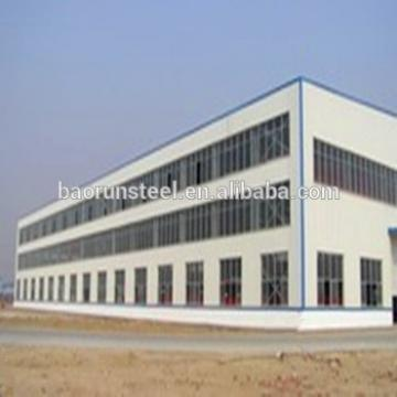 Main prefab Steel Frame Prefabricated Morden steel structral workshop sale in Portugal