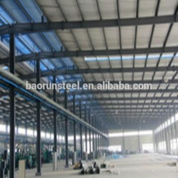 Good design quick assemble prefabricated steel structure airplane hangar