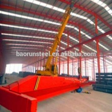 Quick assemble construction design steel structure warehouse steel frame carport
