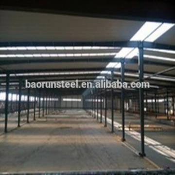 Quick assemble prefabricated steel structure car service workshop
