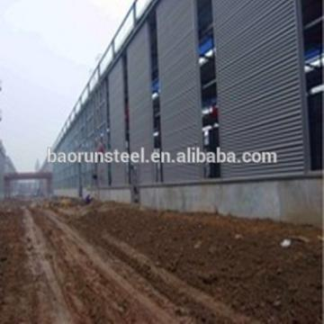 Main prefab hangar building construction heavy steel frame structure